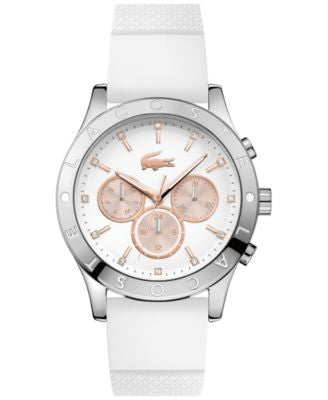 Lacoste Women's Charlotte White Silicone Strap Watch 40mm 2000940