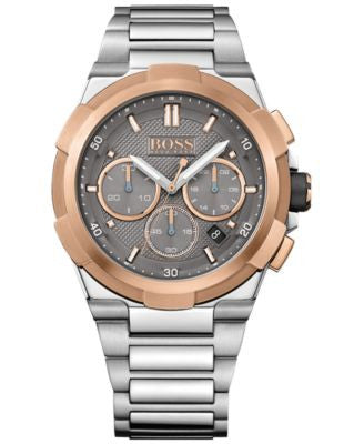 BOSS Hugo Boss Men's Chronograph Supernova Stainless Steel Bracelet Watch 46mm 1513362