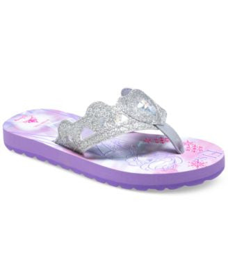 Stride Rite Little Girls' Frozen Elsa Flip Flops