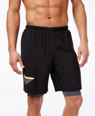 Reebok Men's 2-in-1 Running Shorts