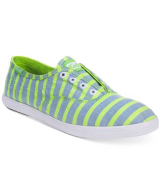 Keds Women's Chillax Neon Laceless Sneakers