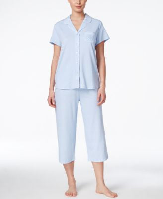 Karen Neuburger Button Front Top Pajama Set