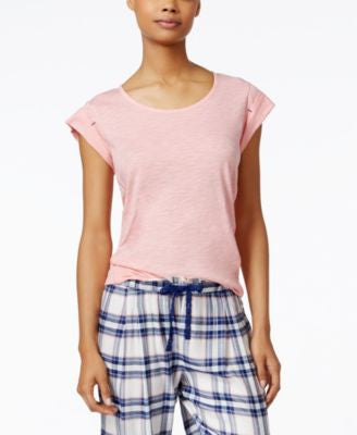 Tommy Hilfiger Short-Sleeve Pajama Top