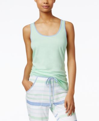 Nautica High-Low Hem Pajama Tank