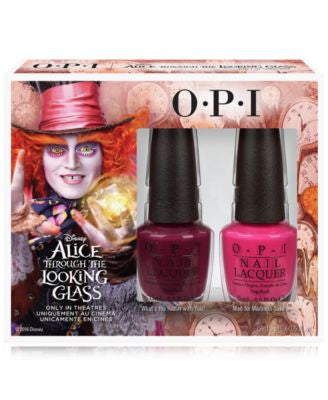 OPI Alice Through the Looking Glass Mad Hatter Nail Lacquer Duo