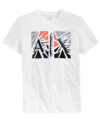 Armani Exchange Men's Broken Short-Sleeve T-Shirt