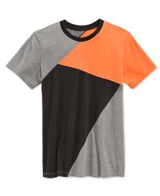 Armani Exchange Men's Colorblocked Crew Neck T-Shirt
