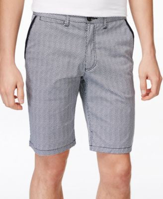 Armani Exchange Men's Printed Chino Shorts