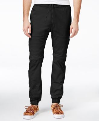 Ring of Fire Men's Biker Zip-Off Twill Pants