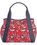 Tommy Hilfiger TH Painted Floral Canvas Tote