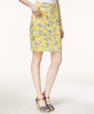 Charter Club Floral-Print Skort, Only at Vogily