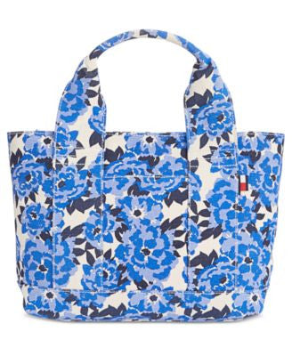 Tommy Hilfiger Natalie Painted Floral Shopper Tote