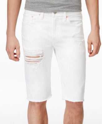Levi's® Men's 511 Slim-Fit Cutoff Ripped Jean Shorts