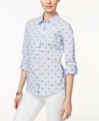 Charter Club Sail-Print Shirt, Only at Vogily