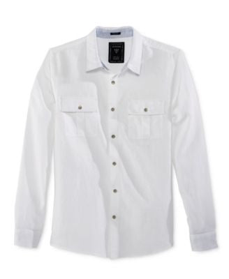 GUESS Men's Walker Long-Sleeve Shirt