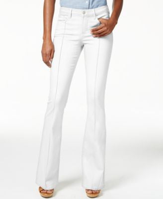 NYDJ Farrah Spotless Pebble Wash Flared Jeans