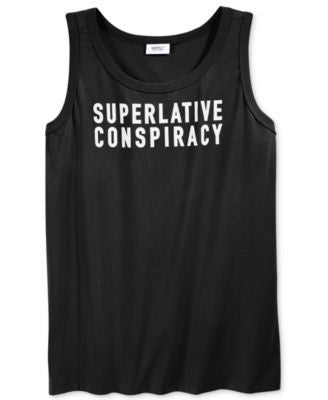 WeSC Men's Superlative Conspiracy Tank Top