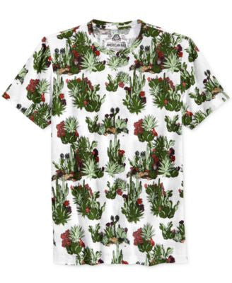 American Rag Men's Cacti Graphic-Print T-Shirt, Only at Vogily
