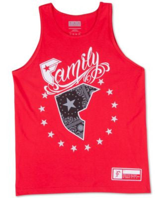 Famous Stars and Straps Men's Wild American Patriot Tank Top