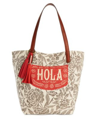 Lucky Brand Key West Linen Tote