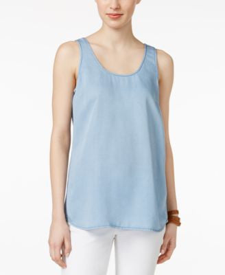 Calvin Klein Jeans Denim Sleeveless Top