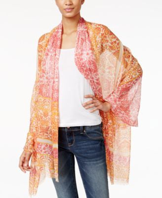 Vince Camuto Imperial Tile Oblong Scarf