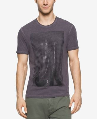 Calvin Klein Jeans Men's Dot Gel Crew Neck T-Shirt