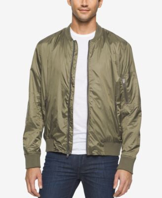 Calvin Klein Jeans Men's Nylon Aviator Jacket