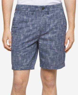 Calvin Klein Jeans Men's Printed Twill Shorts