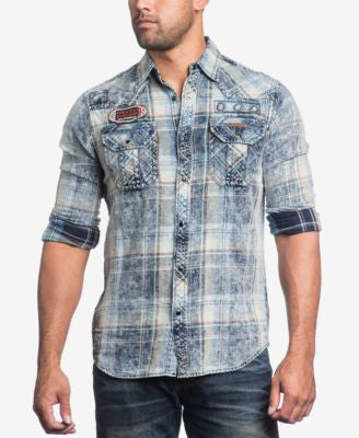 Affliction Men's Rebound Woven Shirt