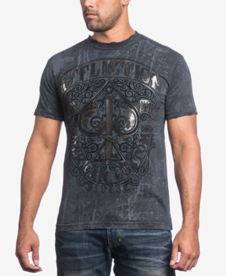 Affliction Men's Death Spade T-Shirt