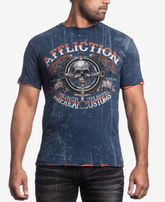 Affliction Men's Genuine Hi Speed T-Shirt