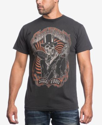 Affliction Men's Watchman Live Fast T-Shirt