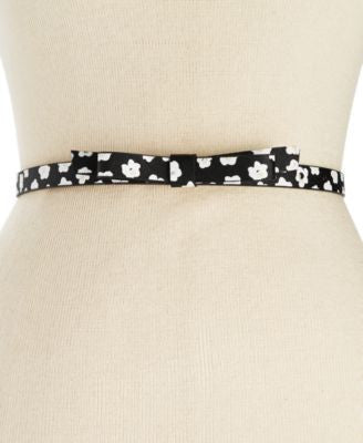 kate spade new york Naïve Floral Bow Belt