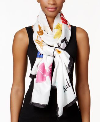 kate spade new york Things We Love Oblong Silk Scarf
