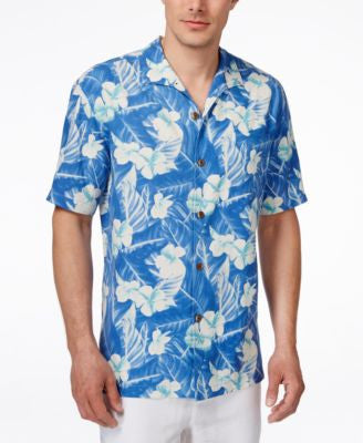 Tommy Bahama Men's Bon Jour Bloom Floral-Print Short-Sleeve Shirt