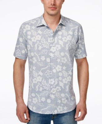 Tommy Bahama Men's Tidepool Cruiser Floral-Print Seersucker Short-Sleeve Shirt