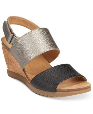 White Mountain Teller Wedge Sandals