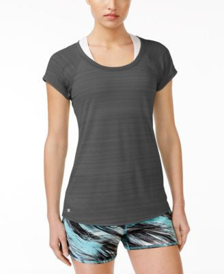 Ideology Lightweight Striped T-Shirt, Only at Vogily