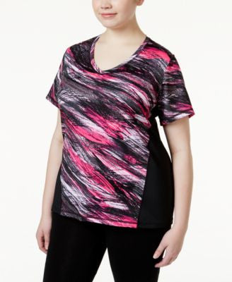 Ideology Plus Size Performance T-Shirt, Only at Vogily