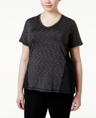 Ideology Plus Size Space-Dyed T-Shirt, Only at Vogily