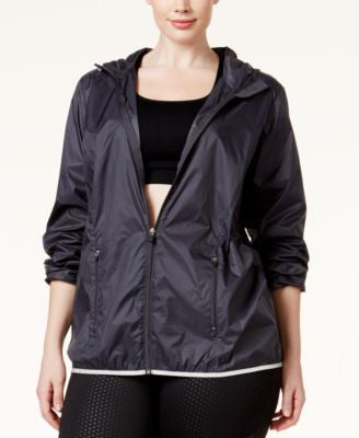 Ideology Plus Size Packable Jacket, Only at Vogily