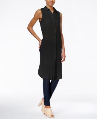 Bar III Sleeveless Tunic Shirt, Only at Vogily