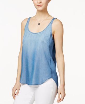 Velvet Heart Kaelyn Chambray Tank Top