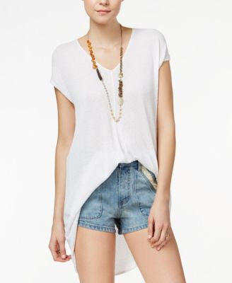 Free People Take It Easy Short-Sleeve Tunic