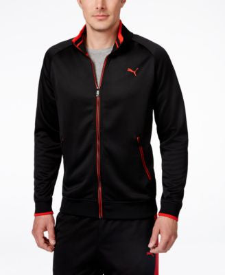 Puma Men's Full-Zip Tricot Track Jacket
