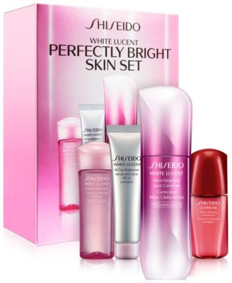 Shiseido White Lucent Perfectly Bright Serum Set