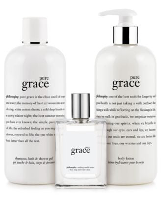 philosophy pure grace collection
