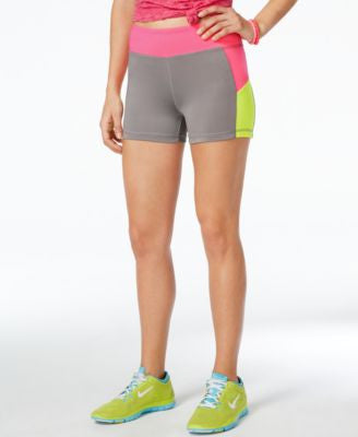 Energie Active Juniors' Sunny Colorblocked Compression Shorts