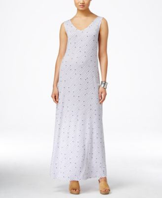 Style & Co. A-Line Maxi Dress, Only at Vogily